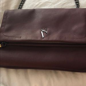 Burgundy Simply Vera Purse